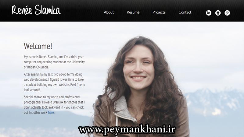 امکانات پایه برای وب شخصی